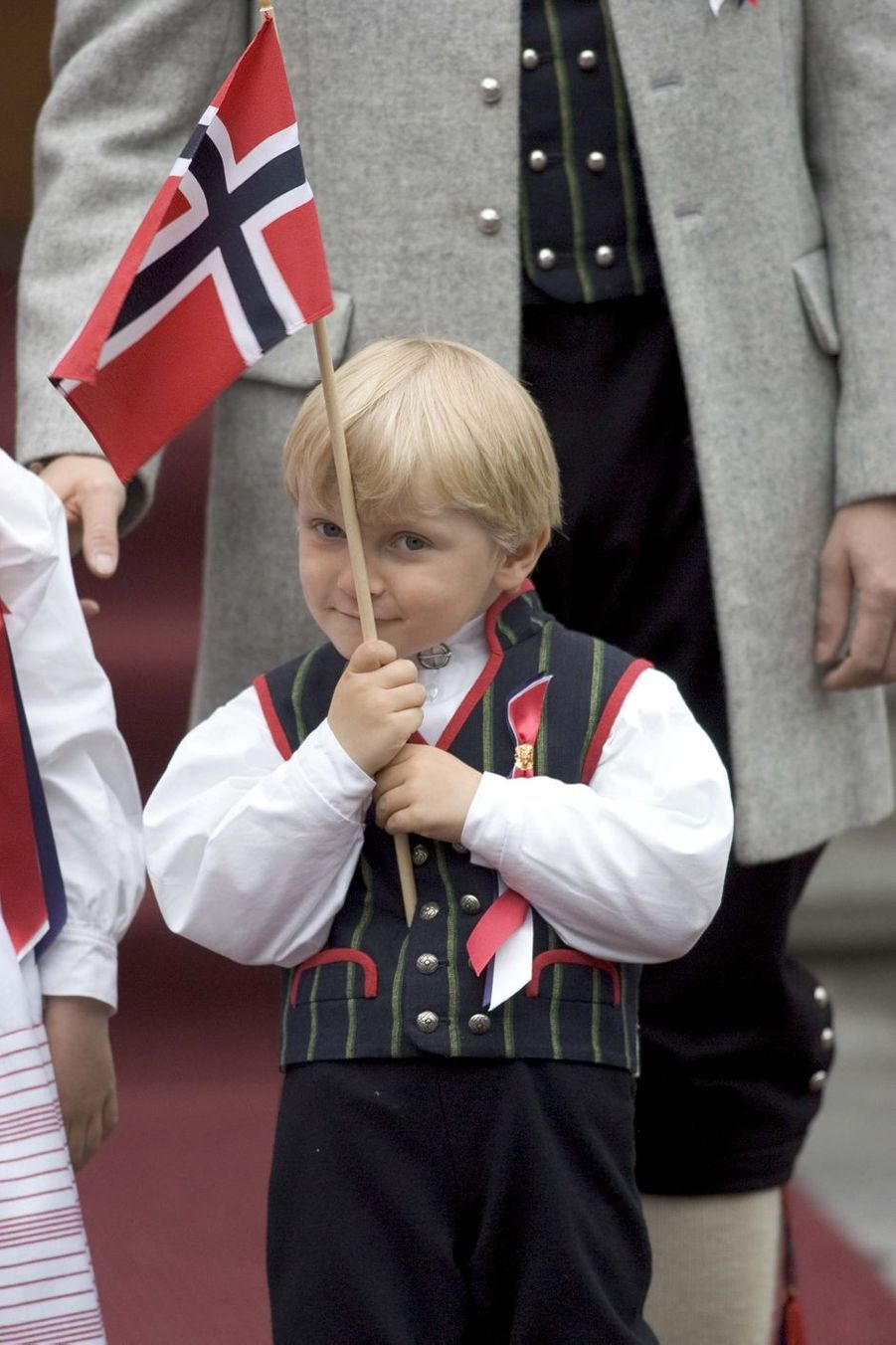Le prince Sverre Magnus de Norvège, le 17 mai 2010