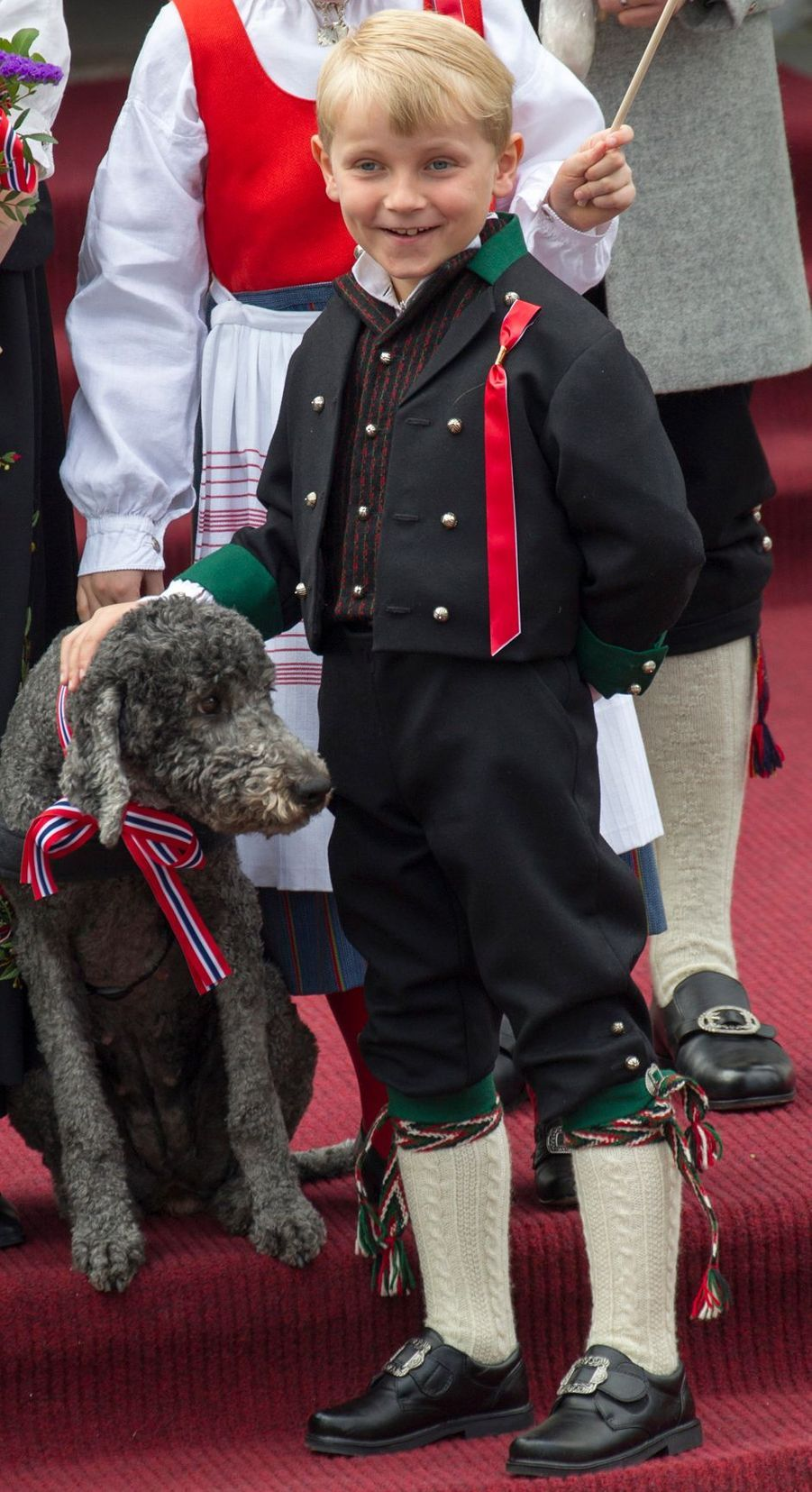 Le prince Sverre Magnus de Norvège, le 17 mai 2013