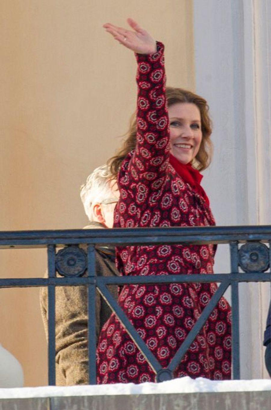 La princesse Martha-Louise de Norvège à Oslo, le 17 janvier 2016