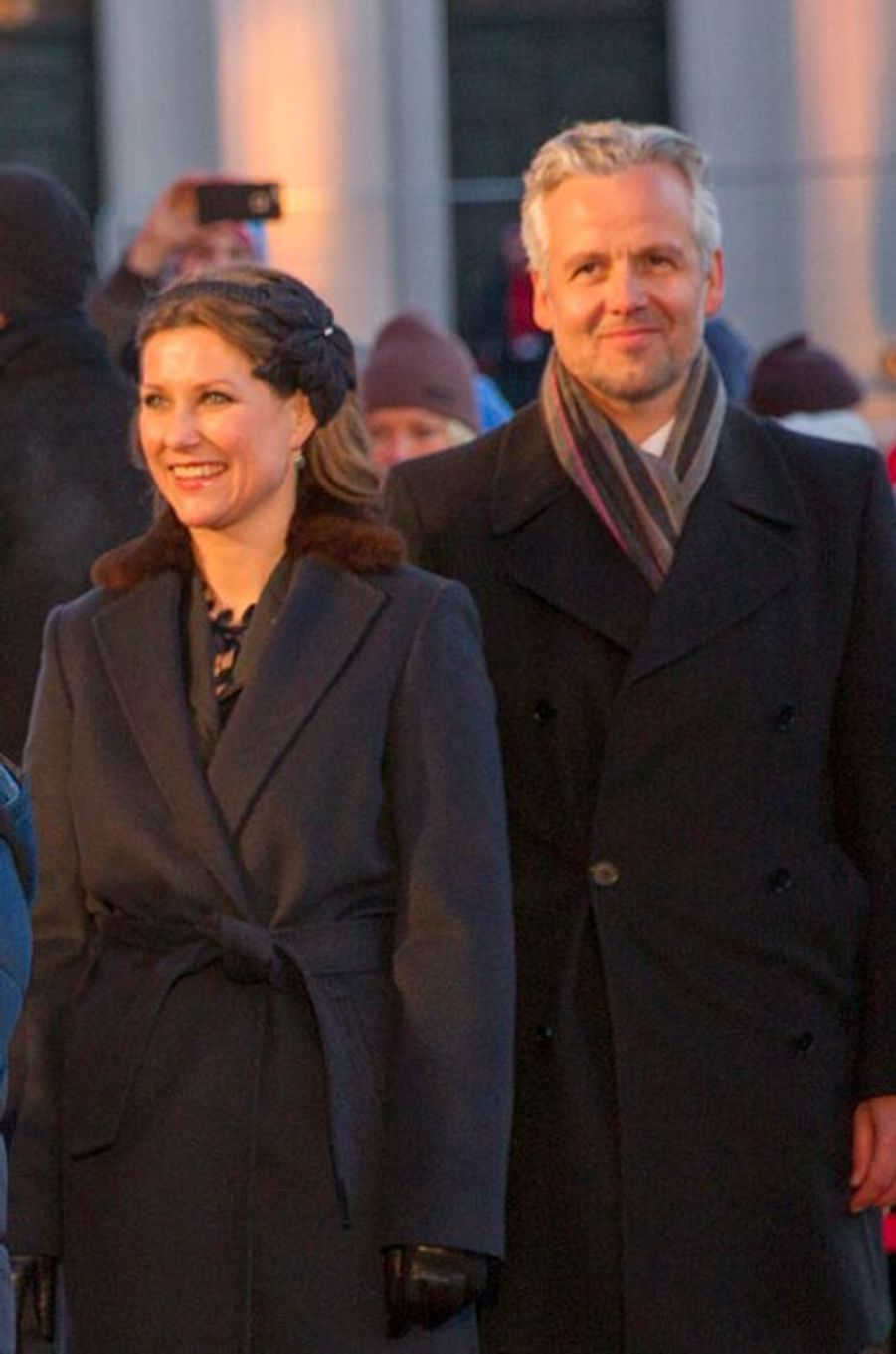 La princesse Martha-Louise de Norvège et son mari Ari Behn à Oslo, le 17 janvier 2016