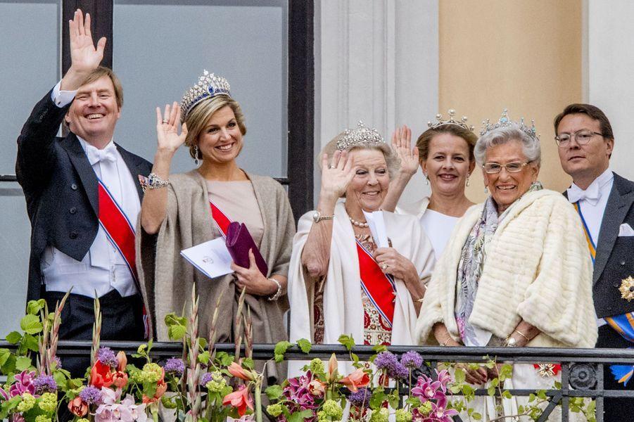 La famille royale des Pays-Bas et la princesse Astrid de Norvège
