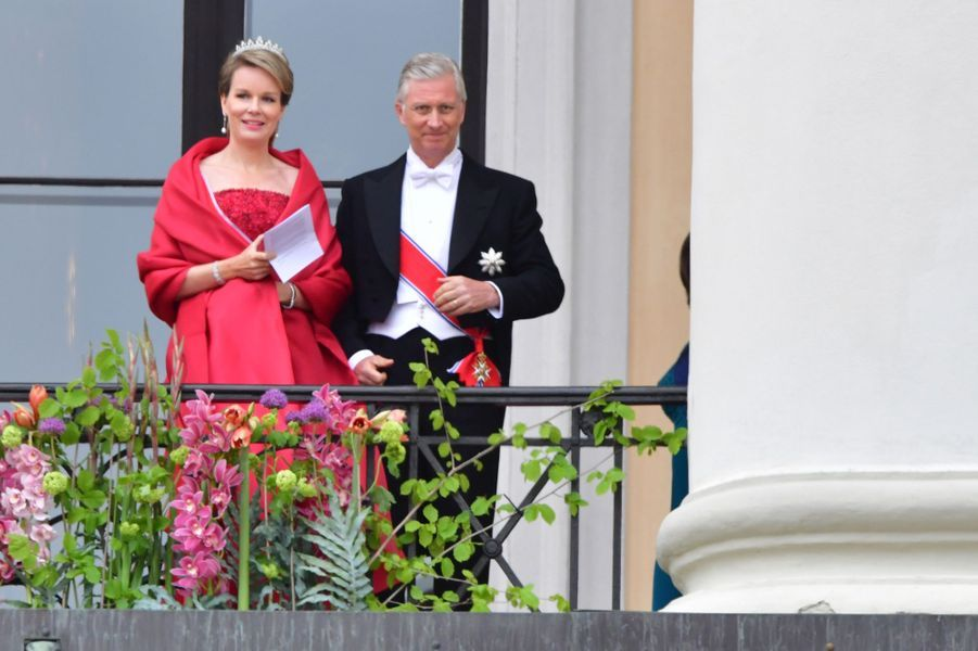 Le roi des Belges Philippe et la reine Mathilde