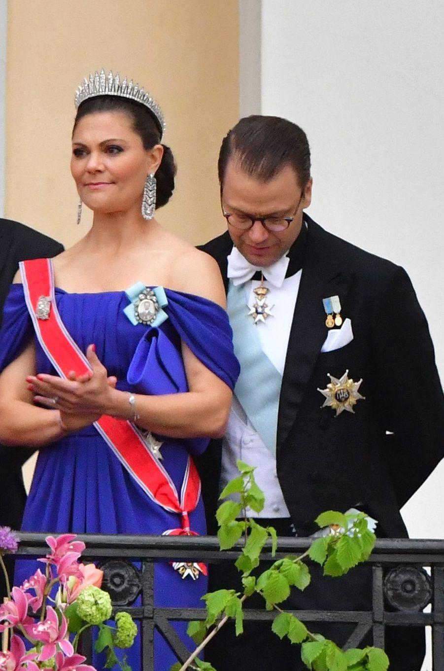 La princesse héritière Victoria de Suède et le prince consort Daniel