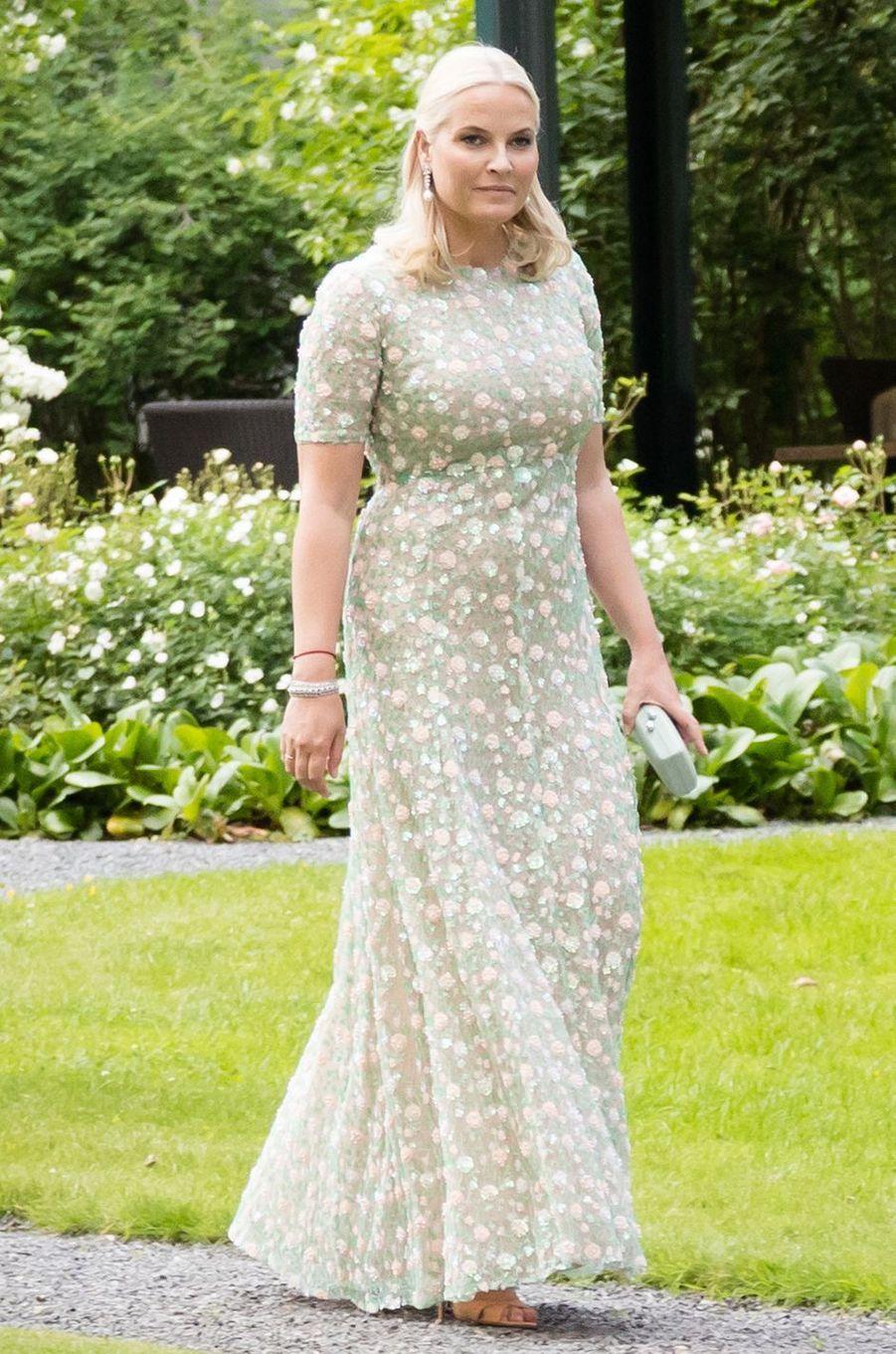 La princesse Mette-Marit de Norvège à Oslo, le 4 juillet 2017