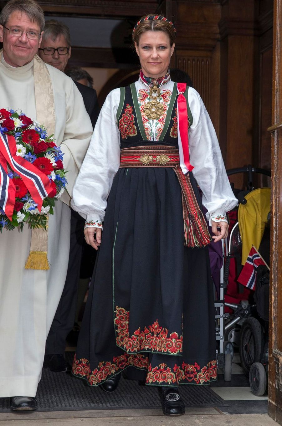 La princesse Märtha Louise de Norvège, le 17 mai 2013