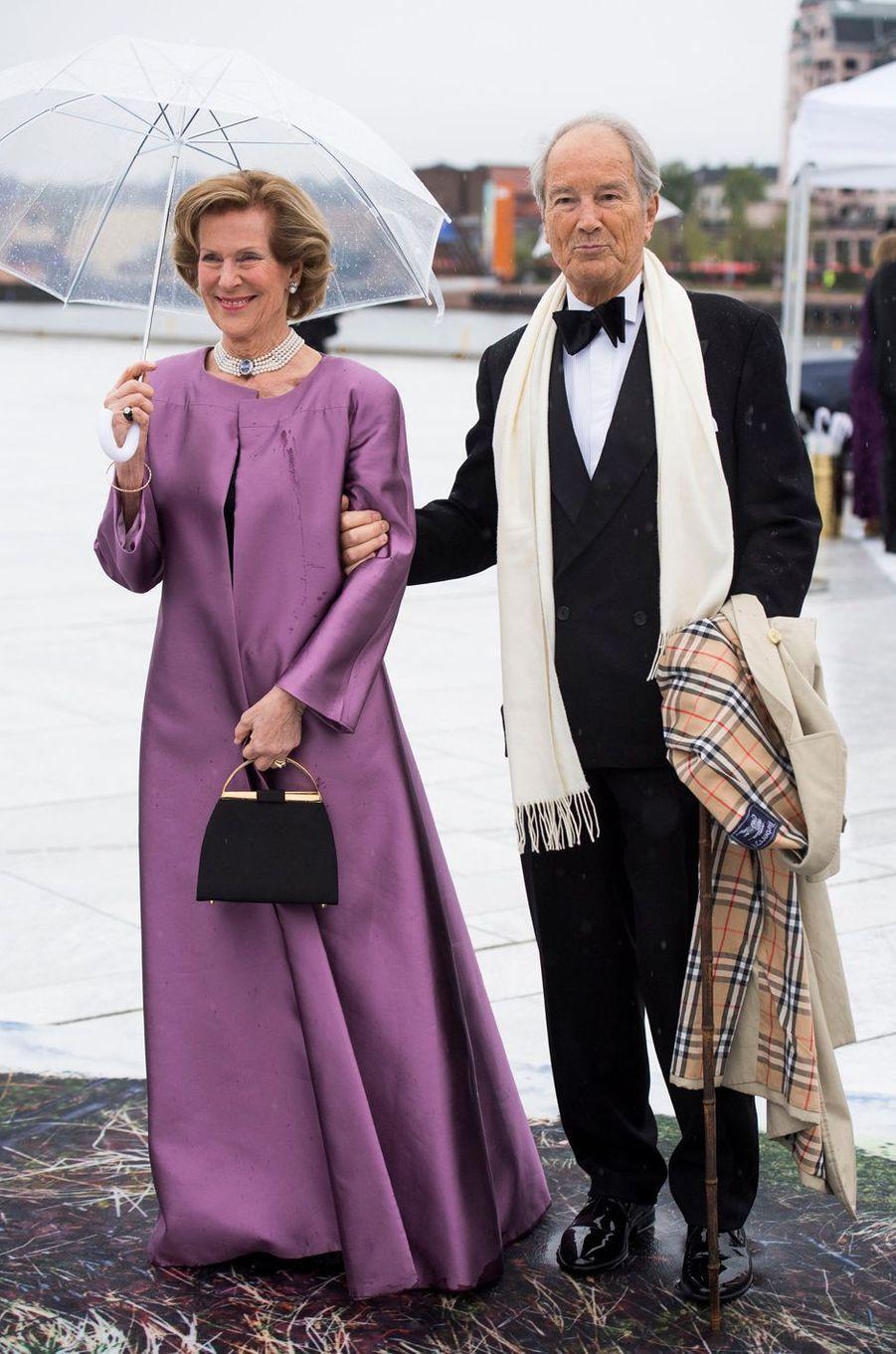 Madeleine Kogevinas (née Bernadotte) et Bernhard Mach à Oslo, le 10 mai 2017