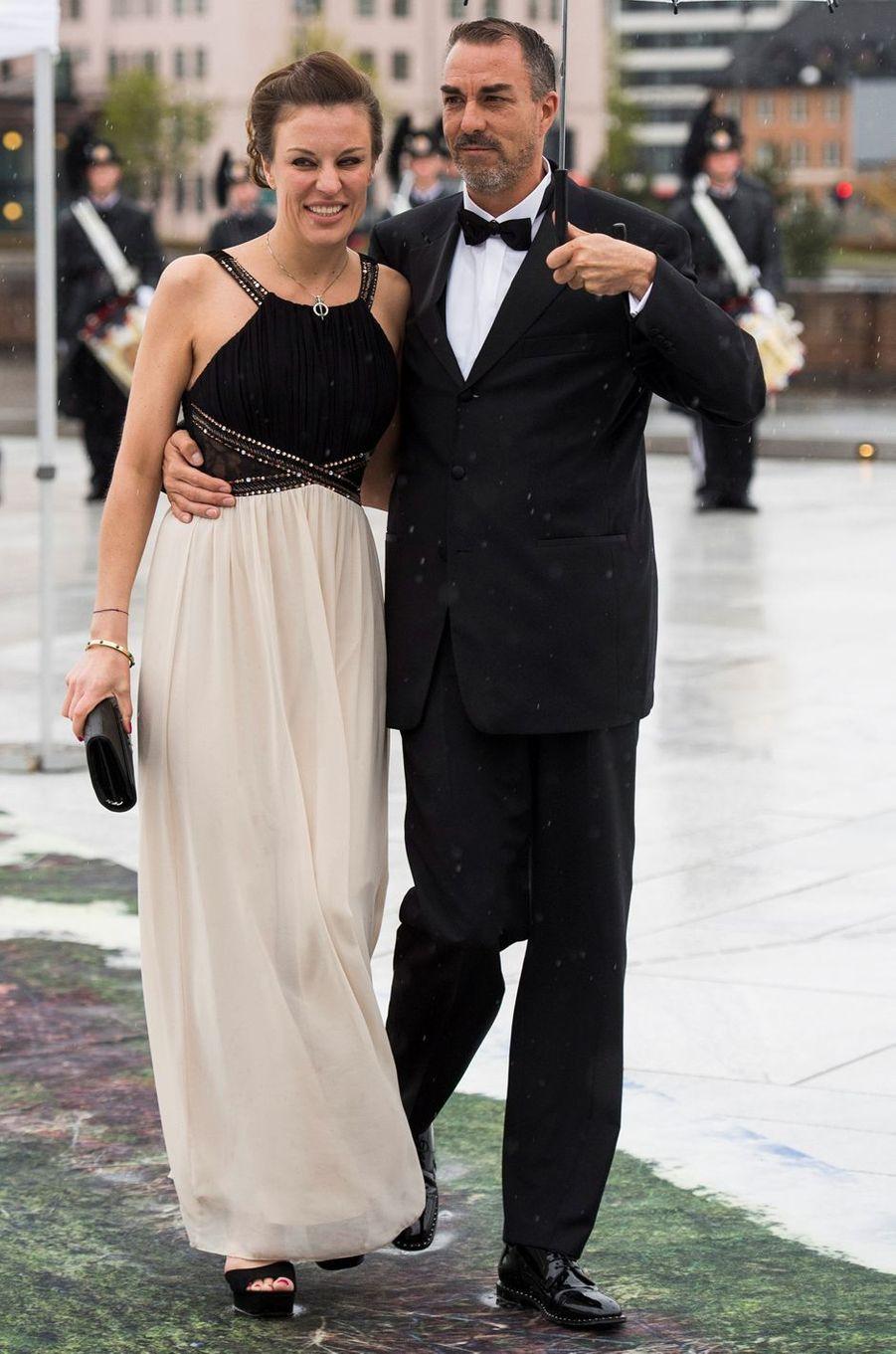 Desiree Kogevinas et Carlos Eugster à Oslo, le 10 mai 2017