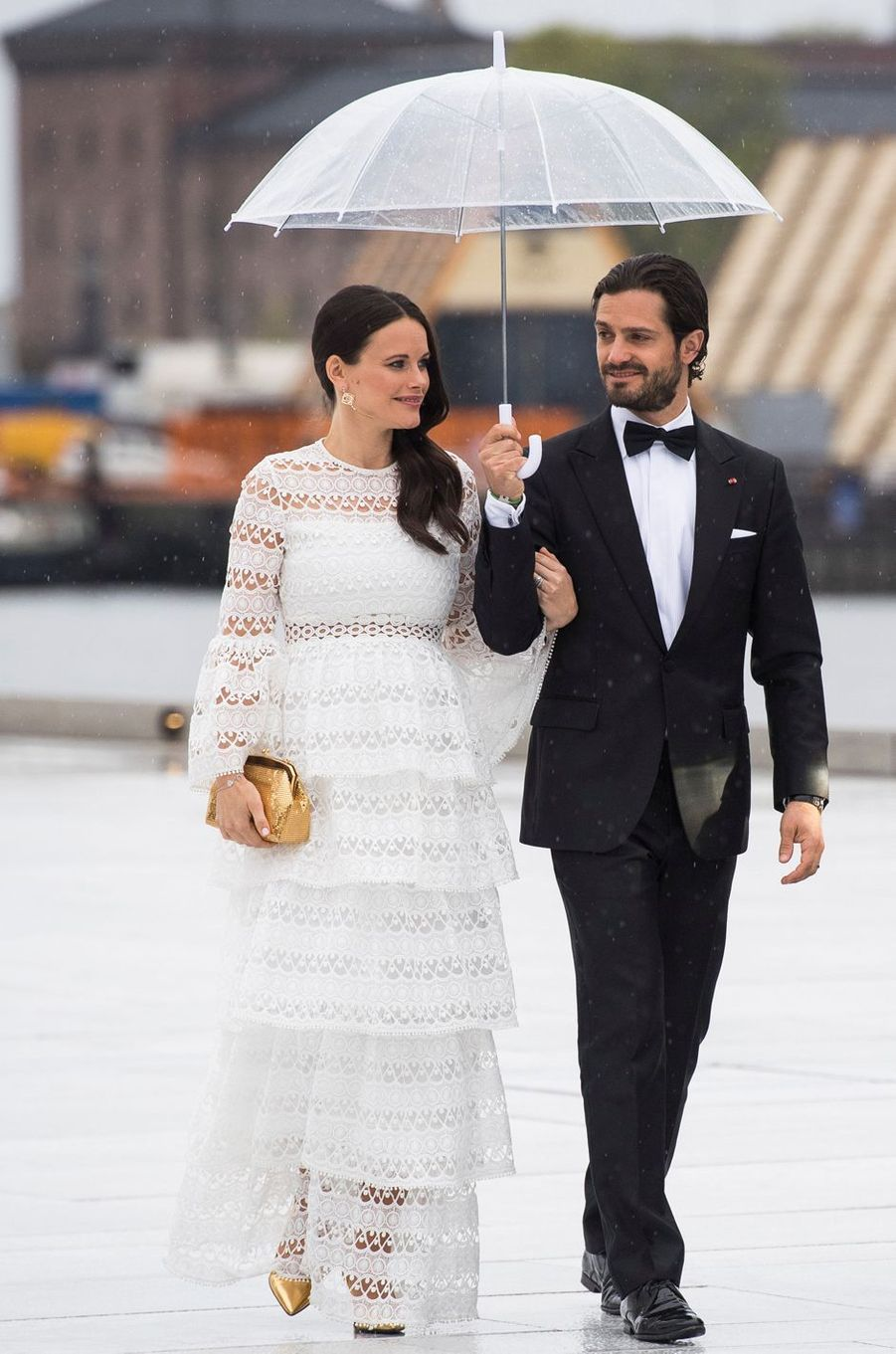 La princesse Sofia et le prince Carl Philip de Suède à Oslo, le 10 mai 2017