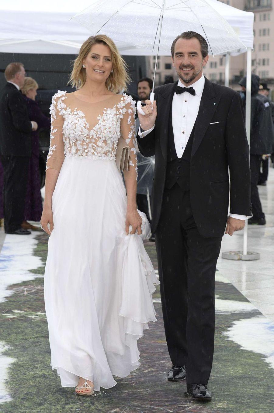 La princesse Tatiana et le prince Nikolaos de Grèce à Oslo, le 10 mai 2017