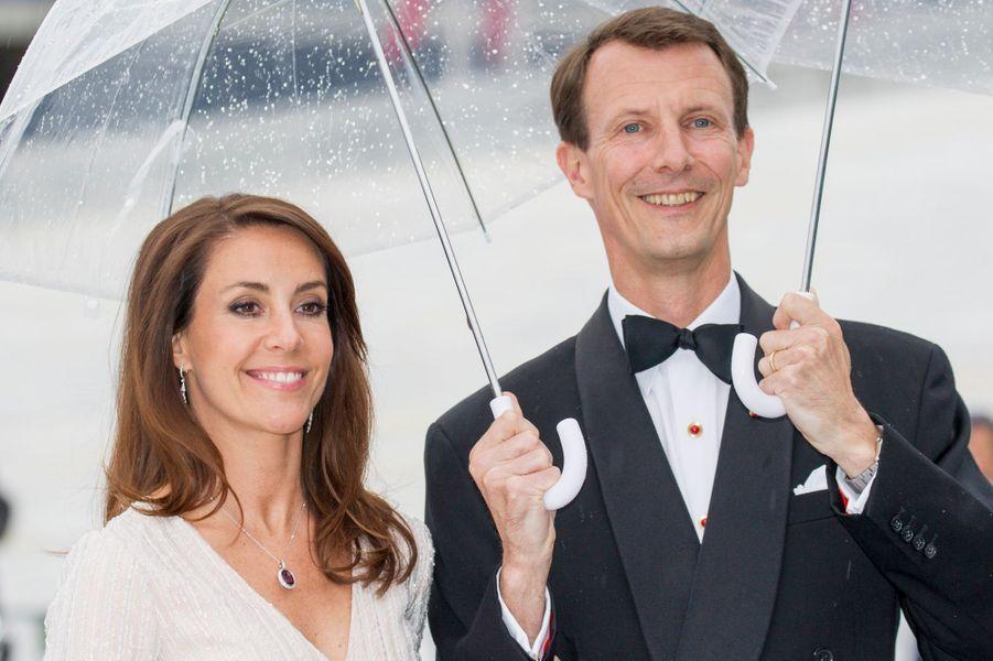 La princesse Marie et le prince Joachim de Danemark à Oslo, le 10 mai 2017