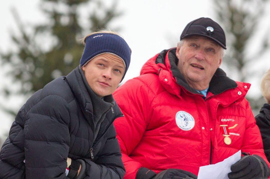 Marius Borg Hoiby, le 9 mars 2014