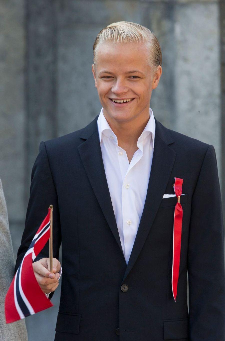 Marius Borg Hoiby, le 15 mai 2014