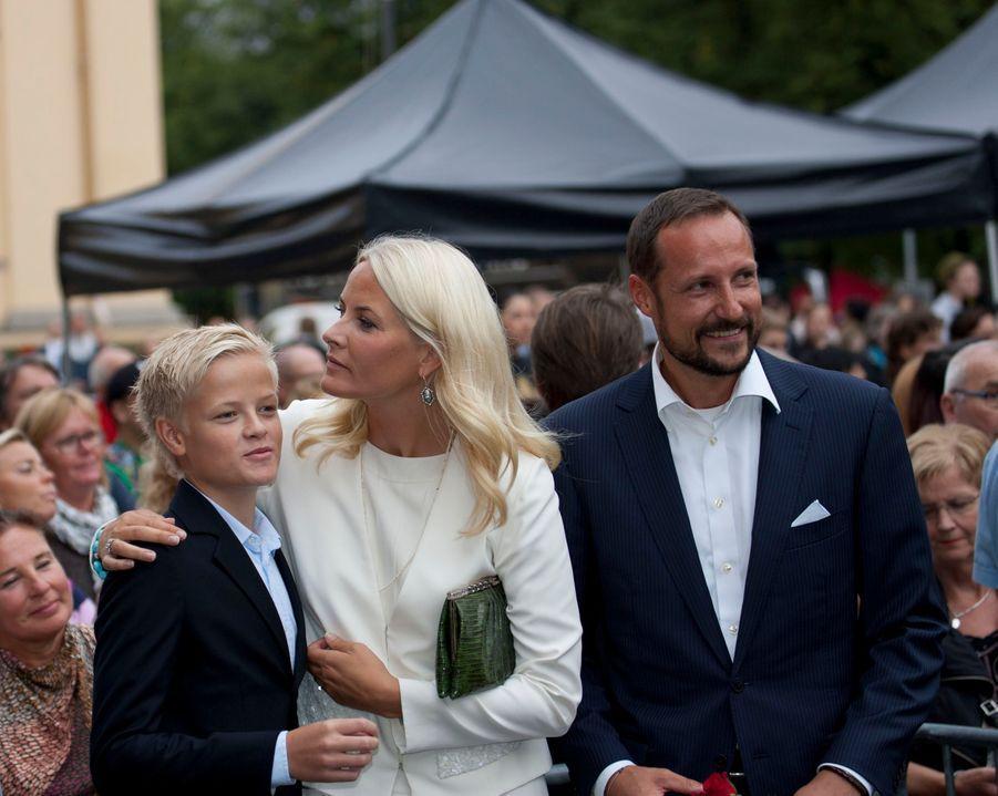 Marius Borg Hoiby, le 25 août 2011