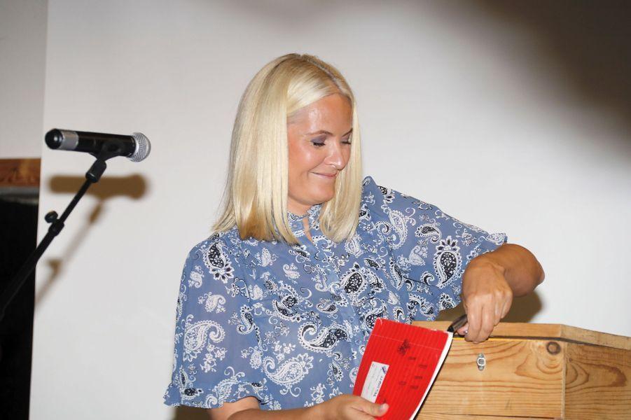 La princesse Mette-Marit de Norvège, le 6 juin 2018