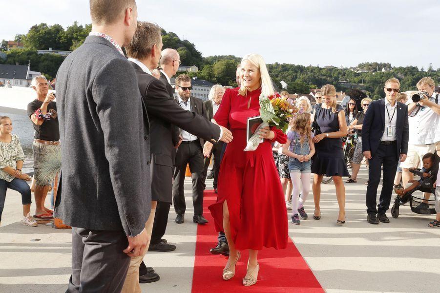 La princesse Mette-Marit de Norvège, le 7 juin 2018