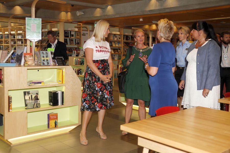 La princesse Mette-Marit de Norvège, le 8 juin 2018