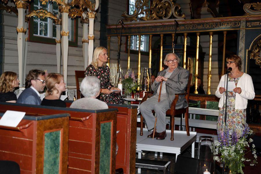 La princesse Mette-Marit de Norvège, dans le sud du pays, le 8 juin 2017
