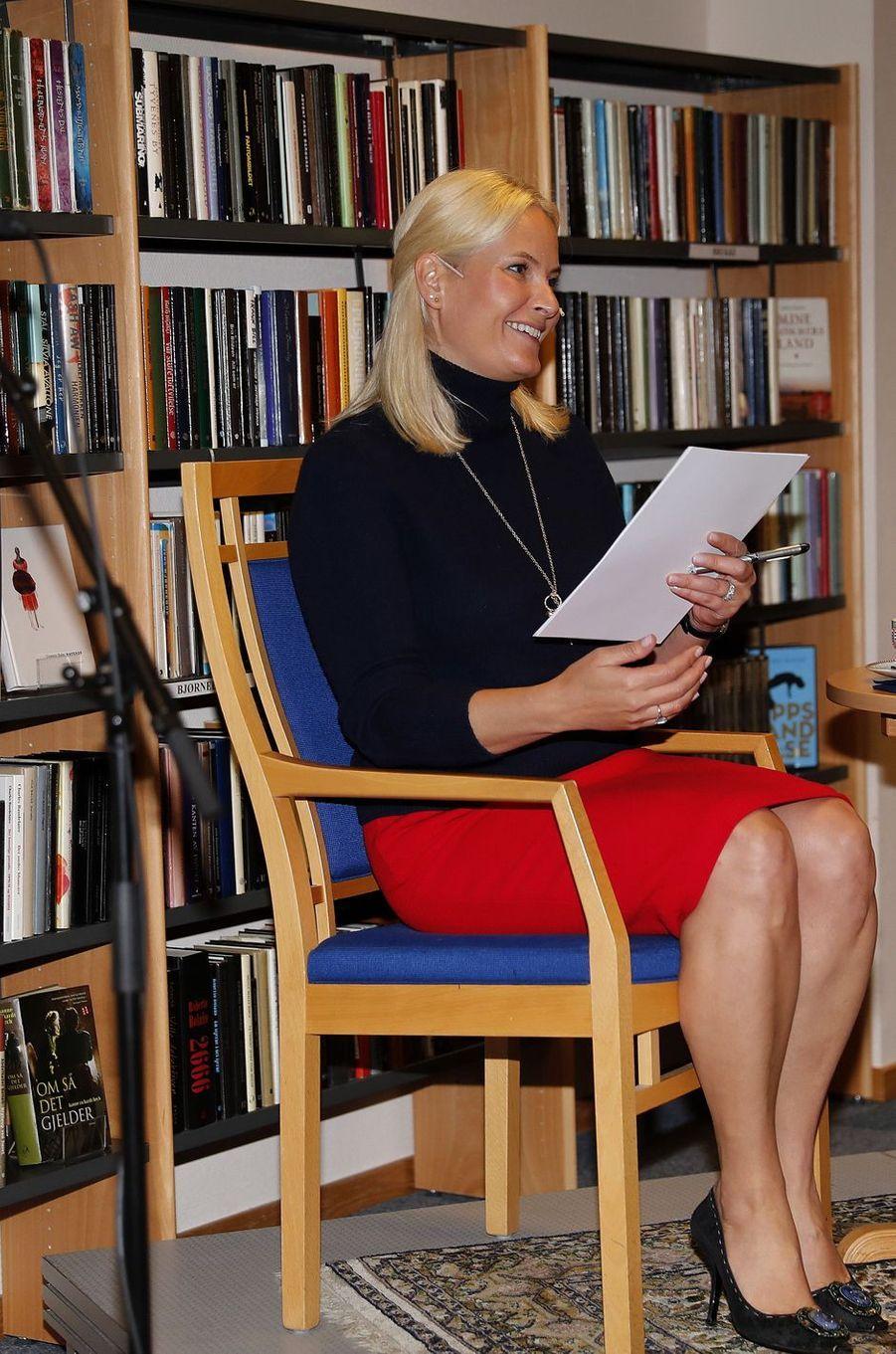 La princesse Mette-Marit de Norvège, dans le sud du pays, le 7 juin 2017