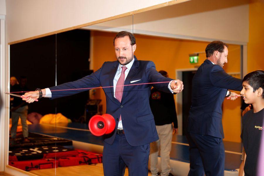 Le prince Haakon de Norvège à Oslo, le 27 mars 2017