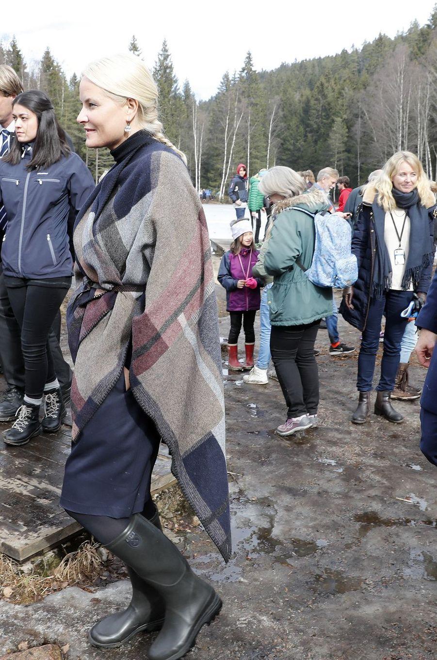 La princesse Mette-Marit de Norvège à Oslo, le 27 mars 2017