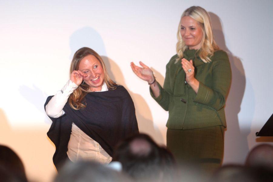 La princesse Mette-Marit de Norvège à Oslo, le 8 mars 2016