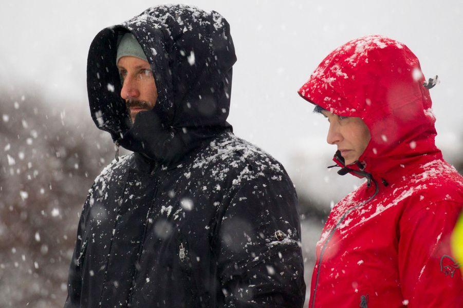 Mette Marit Haakon Norvege À Ski 11 Janv 2017 10