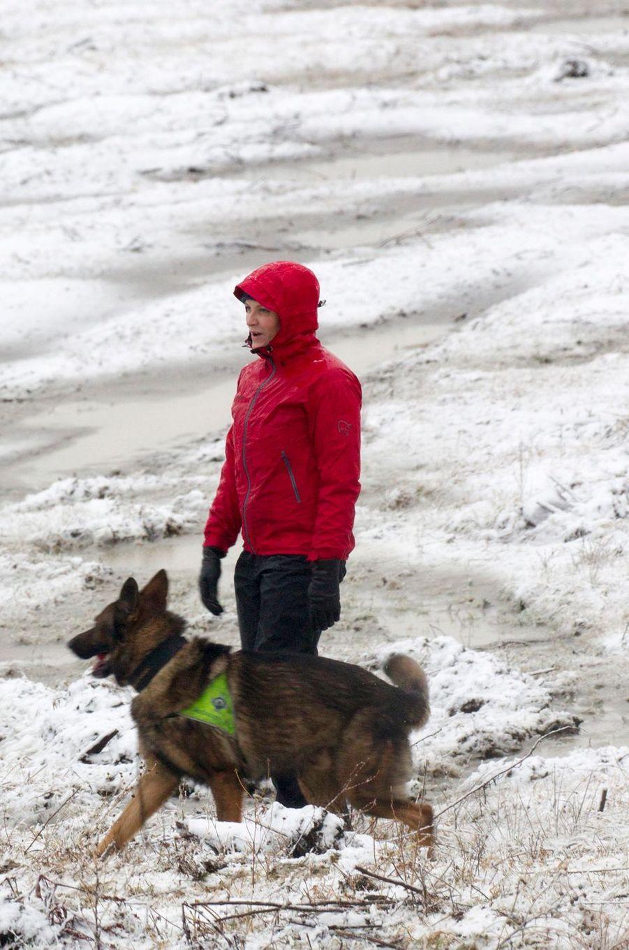 Mette Marit Haakon Norvege À Ski 11 Janv 2017 12