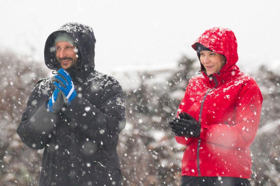 Mette Marit Haakon Norvege À Ski 11 Janv 2017 2 portrait