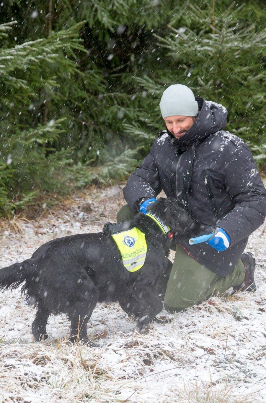Mette Marit Haakon Norvege À Ski 11 Janv 2017 9