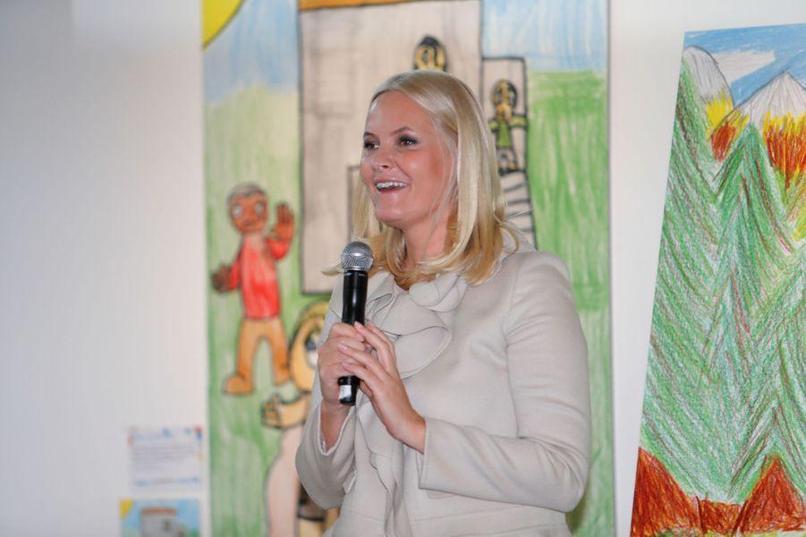 La princesse Mette-Marit de Norvège à Oslo, le 13 décembre 2016