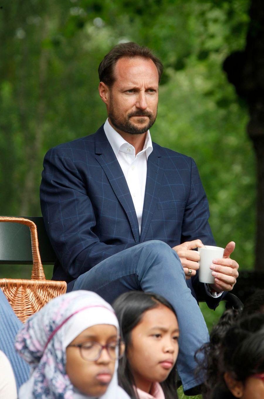 Le prince Haakon de Norvège à Oslo, le 20 juin 2016