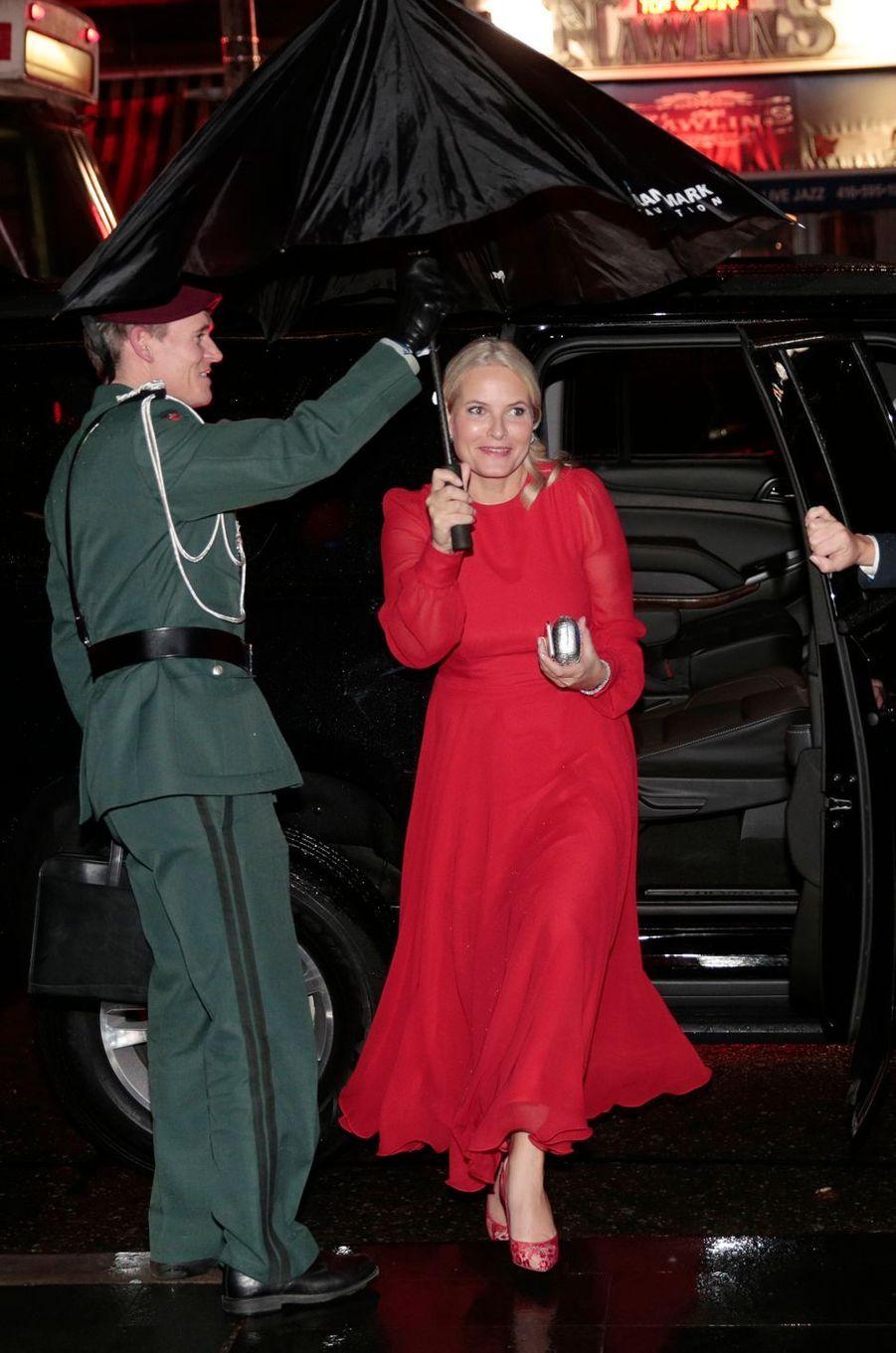 La princesse Mette-Marit de Norvège à Toronto, le 9 novembre 2016