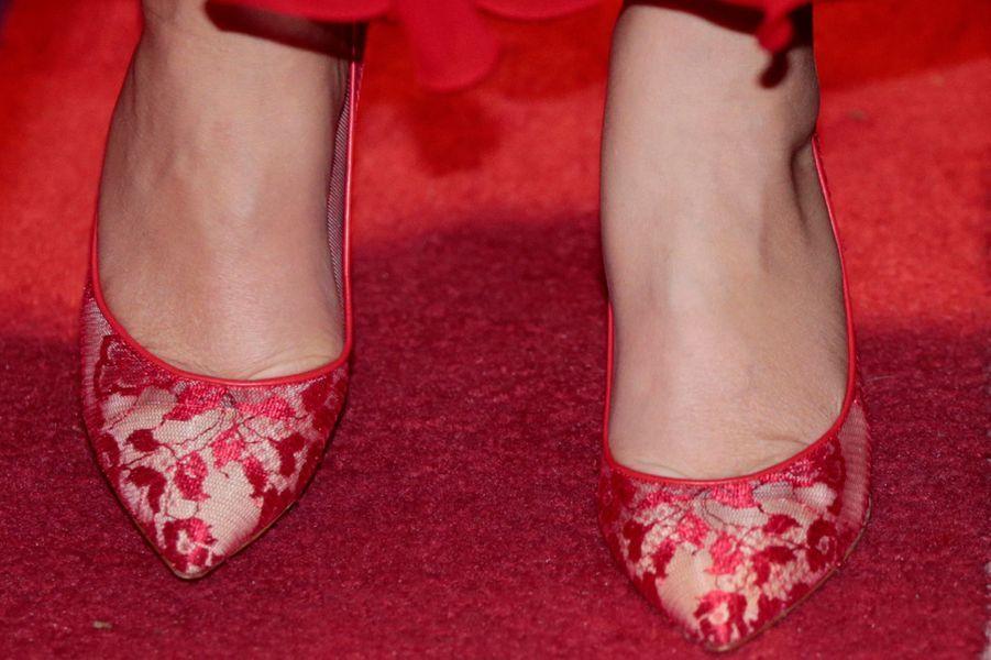 Les chaussures de la princesse Mette-Marit de Norvège à Toronto, le 9 novembre 2016