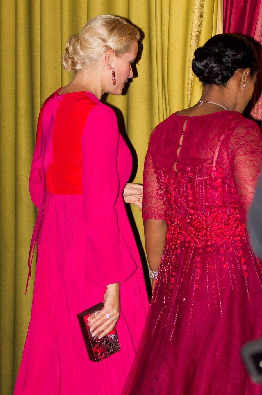 La princesse Mette-Marit de Norvège en Ethiopie, le 7 novembre 2017
