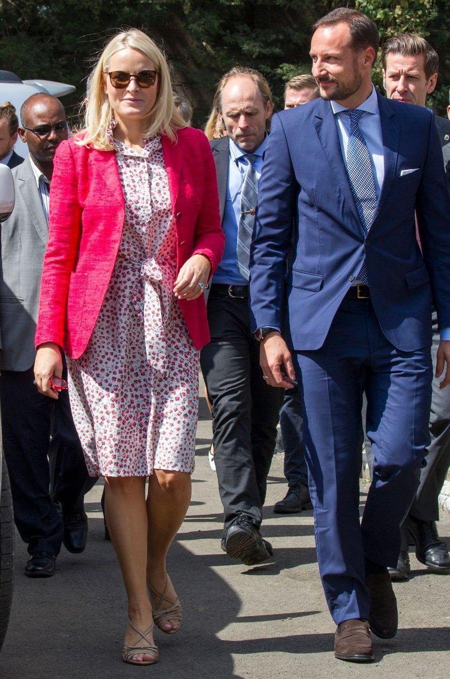 La princesse Mette-Marit de Norvège en Ethiopie, le 8 novembre 2017