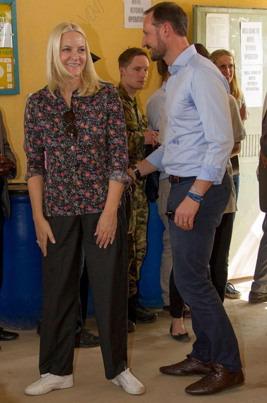La princesse Mette-Marit de Norvège en Ethiopie, le 9 novembre 2017