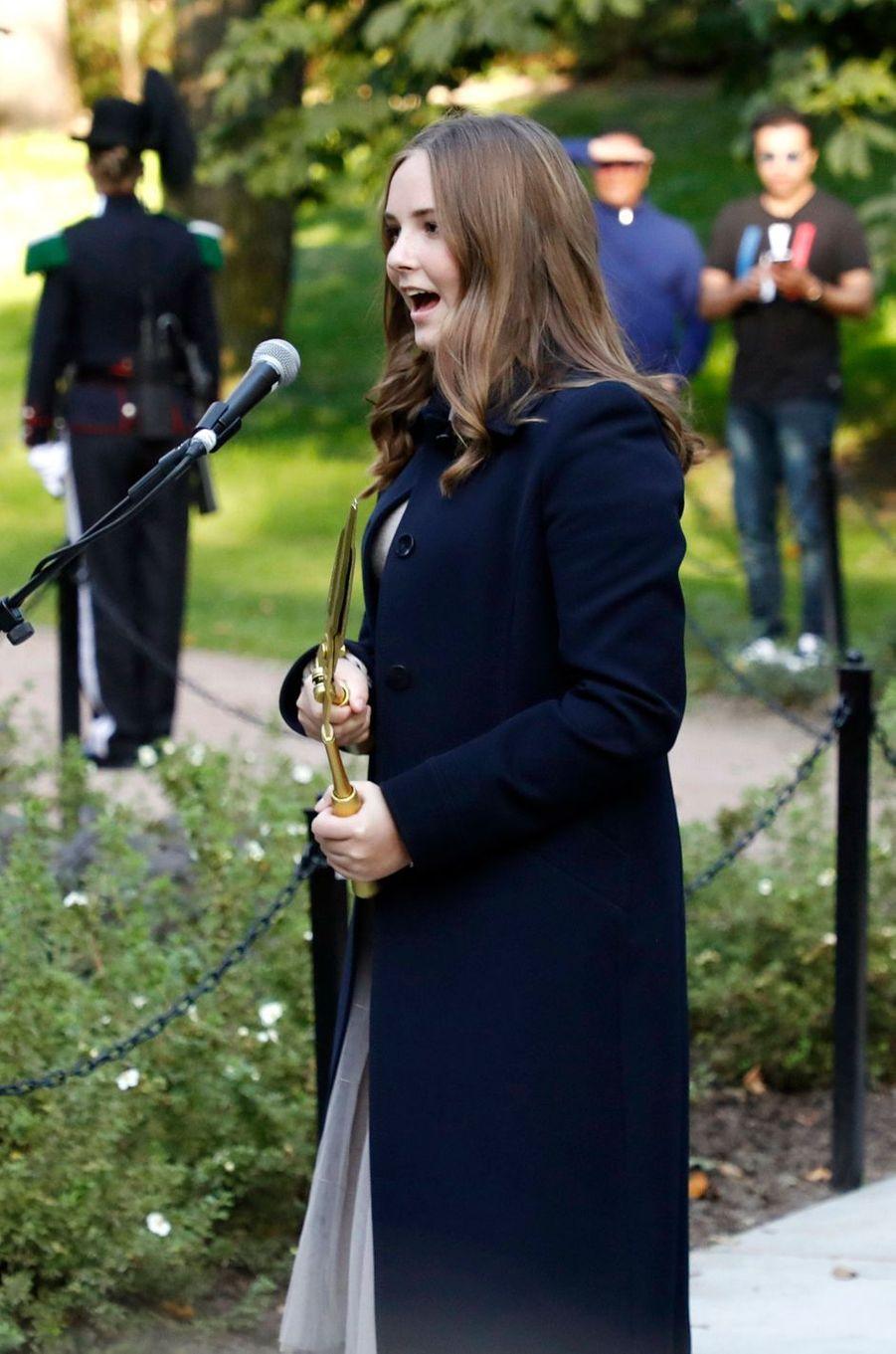 La princesse Ingrid Alexandra de Norvège à Oslo, le 17 septembre 2019