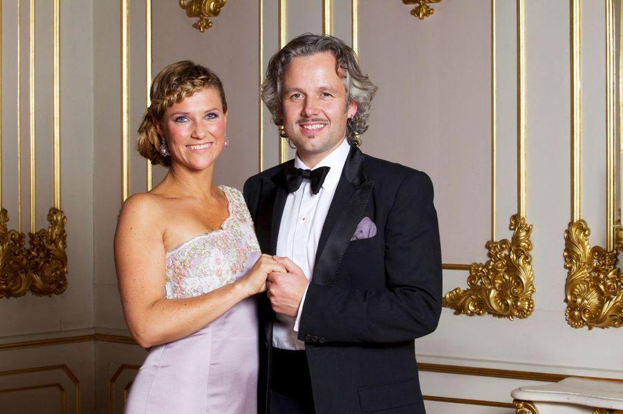 La princesse Märtha Louise de Norvège (le jour de ses 40 ans) et Ari Behn, le 24 septembre 2011