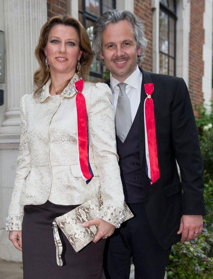 La princesse Märtha Louise de Norvège et Ari Behn, le 17 mai 2013