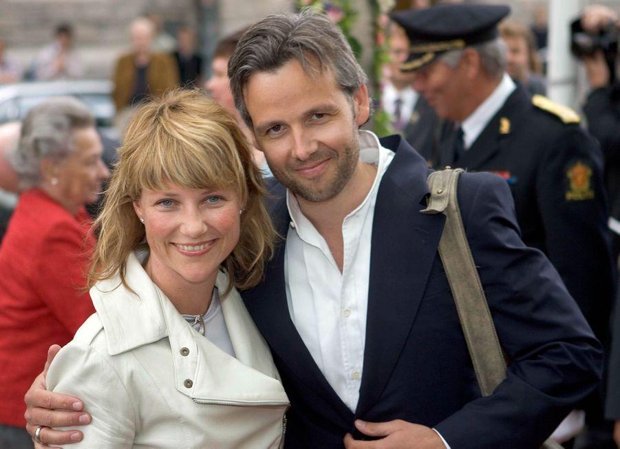 La princesse Märtha Louise de Norvège et Ari Behn, le 21 juin 2006