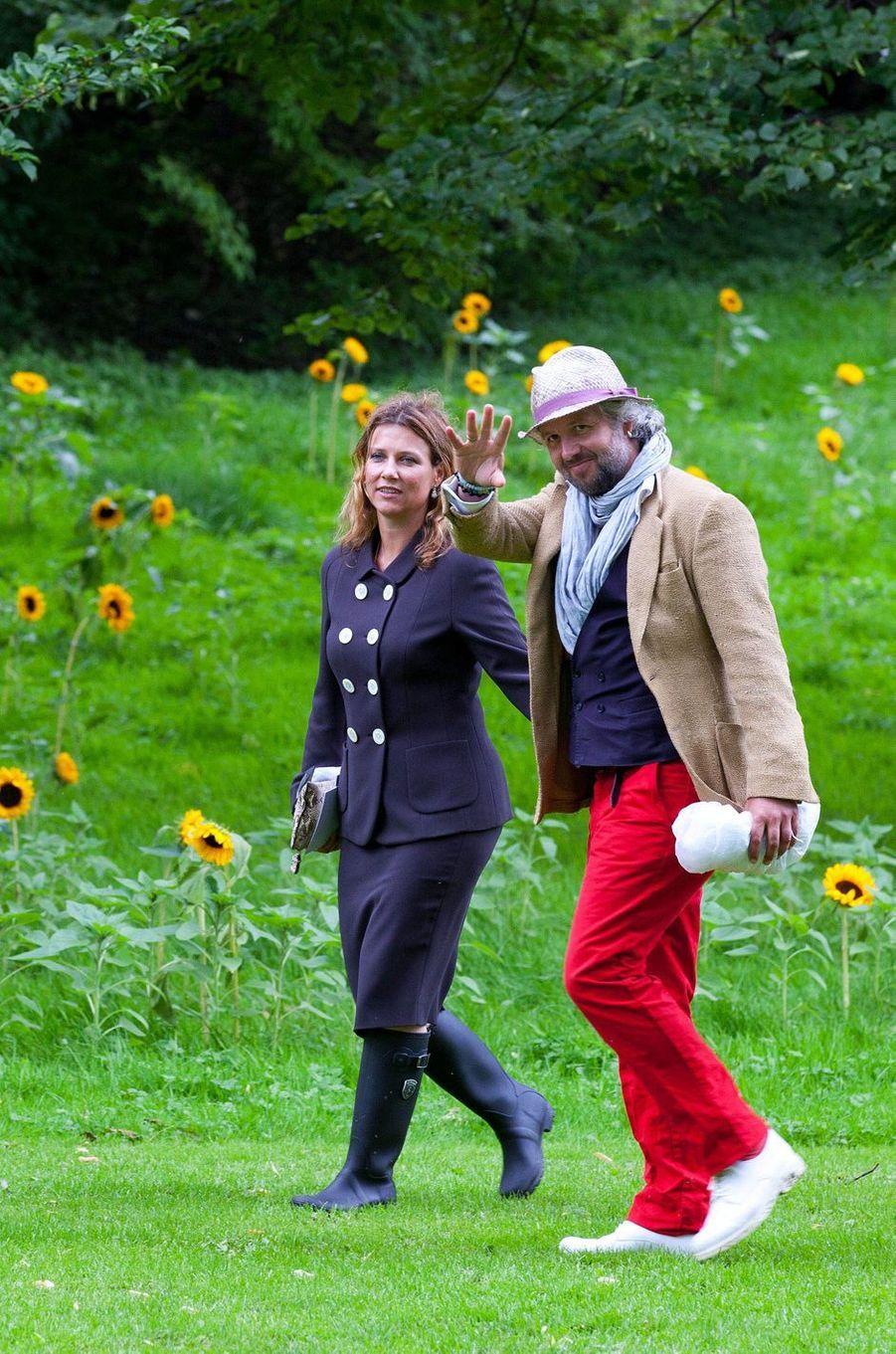La princesse Märtha Louise de Norvège et Ari Behn, le 18 août 2013