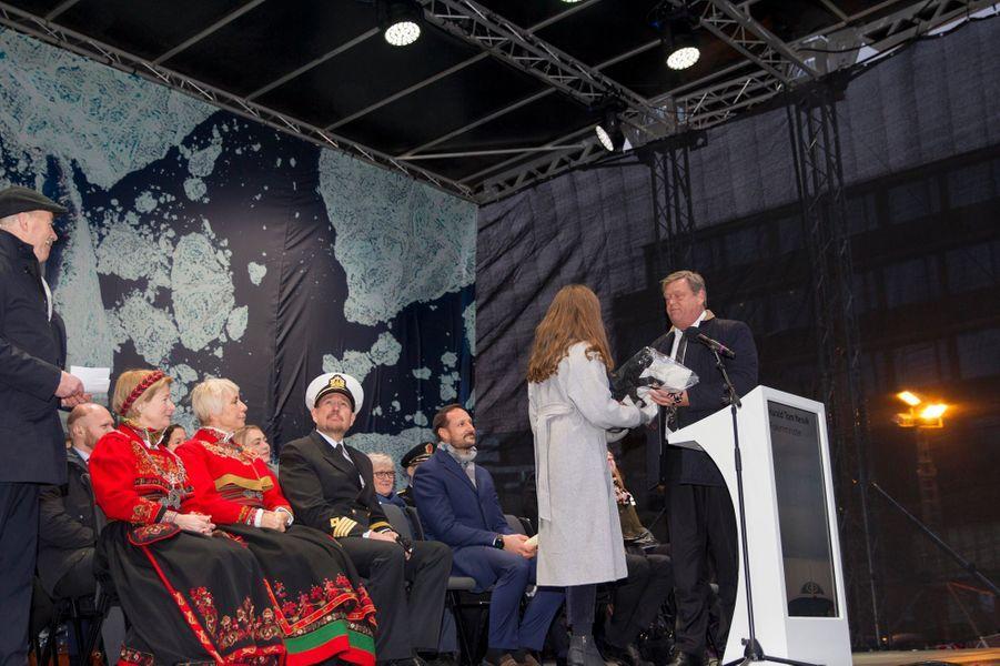 La princesse Ingrid Alexandra de Norvège à Tromso, le 17 novembre 2018