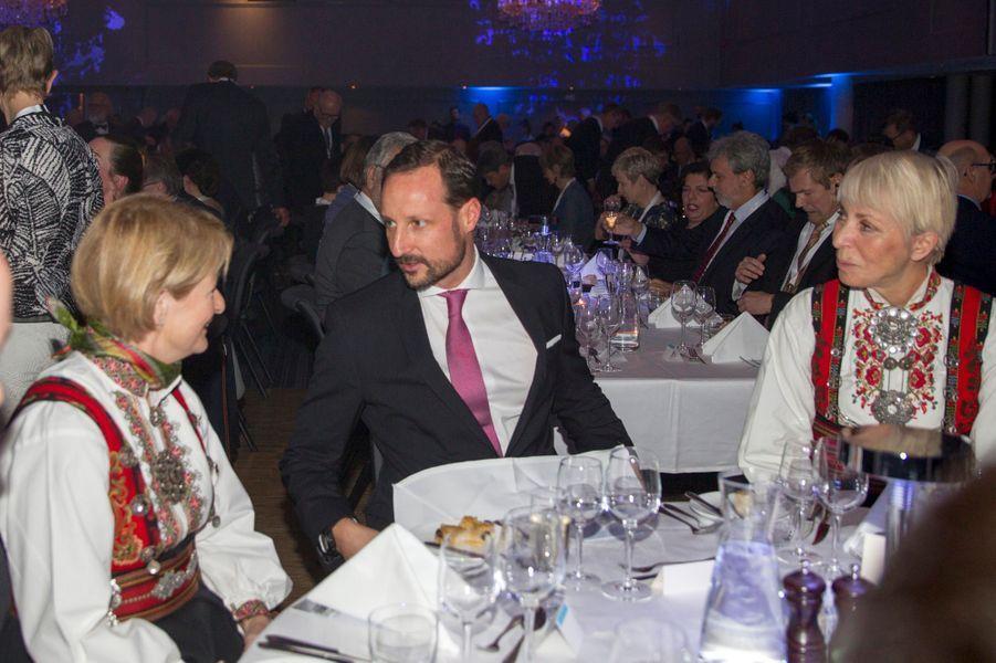 Le prince Haakon de Norvège à Tromso, le 17 novembre 2018