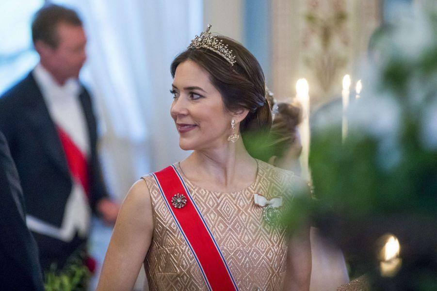 La princesse Mary de Danemark à Oslo, le 9 mai 2017