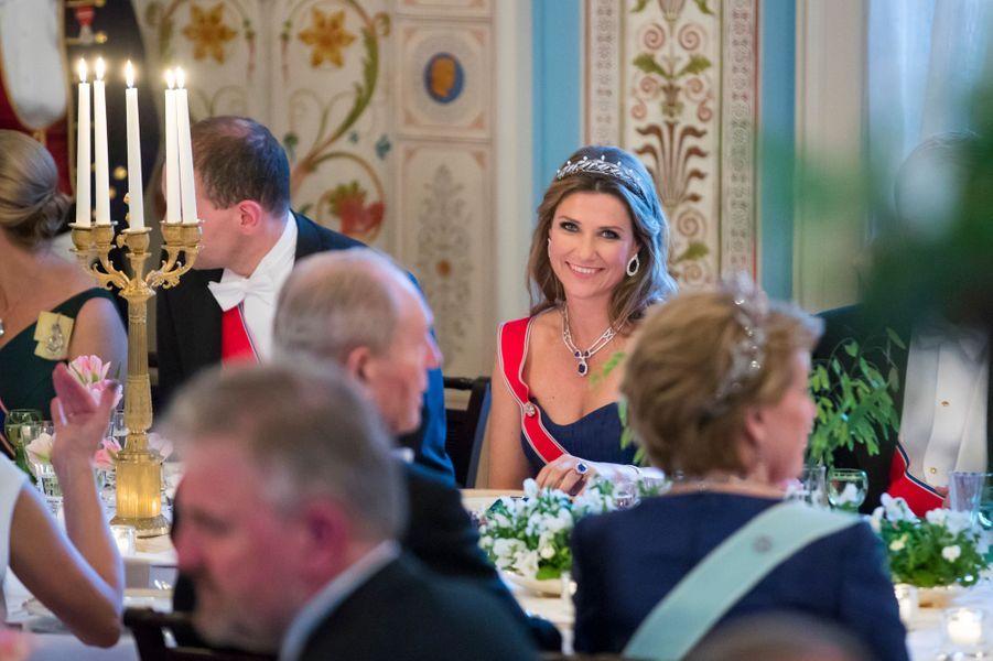 La princesse Märtha-Louise de Norvège à Oslo, le 9 mai 2017