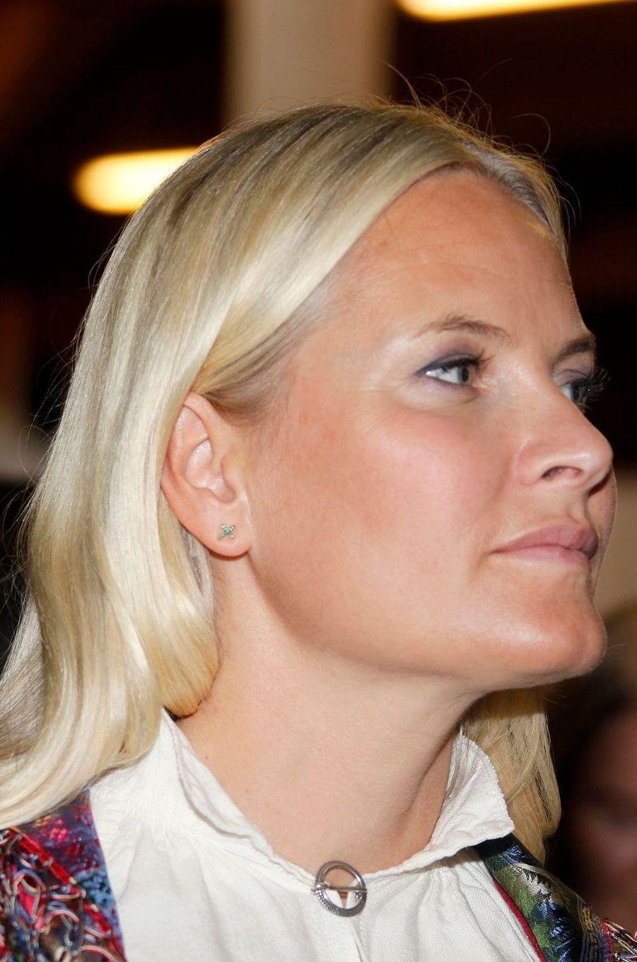 La princesse Mette-Marit de Norvège à Seljord, le 9 septembre 2016