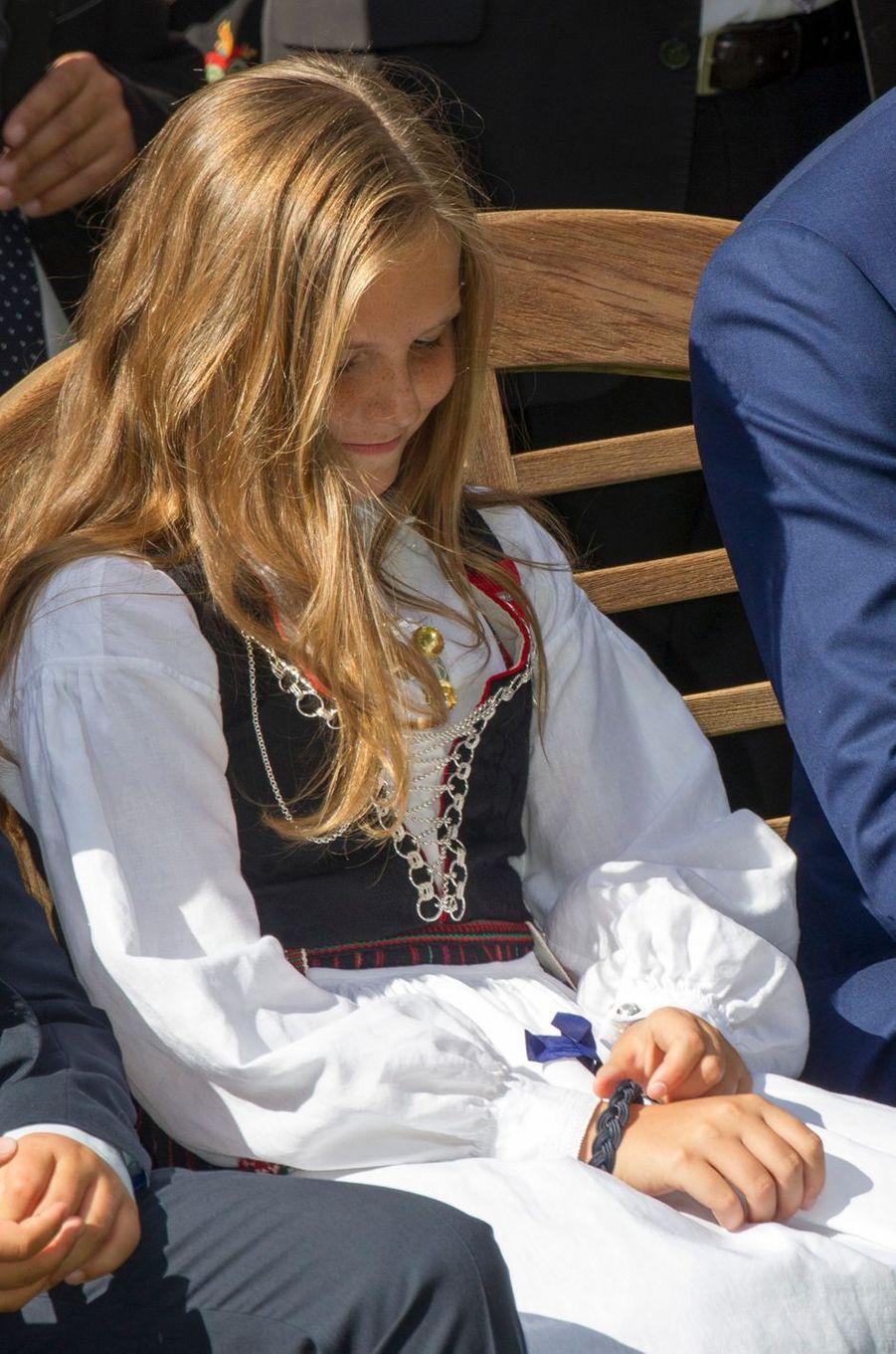 La princesse Ingrid Alexandra de Norvège à Oslo, le 1er septembre 2016