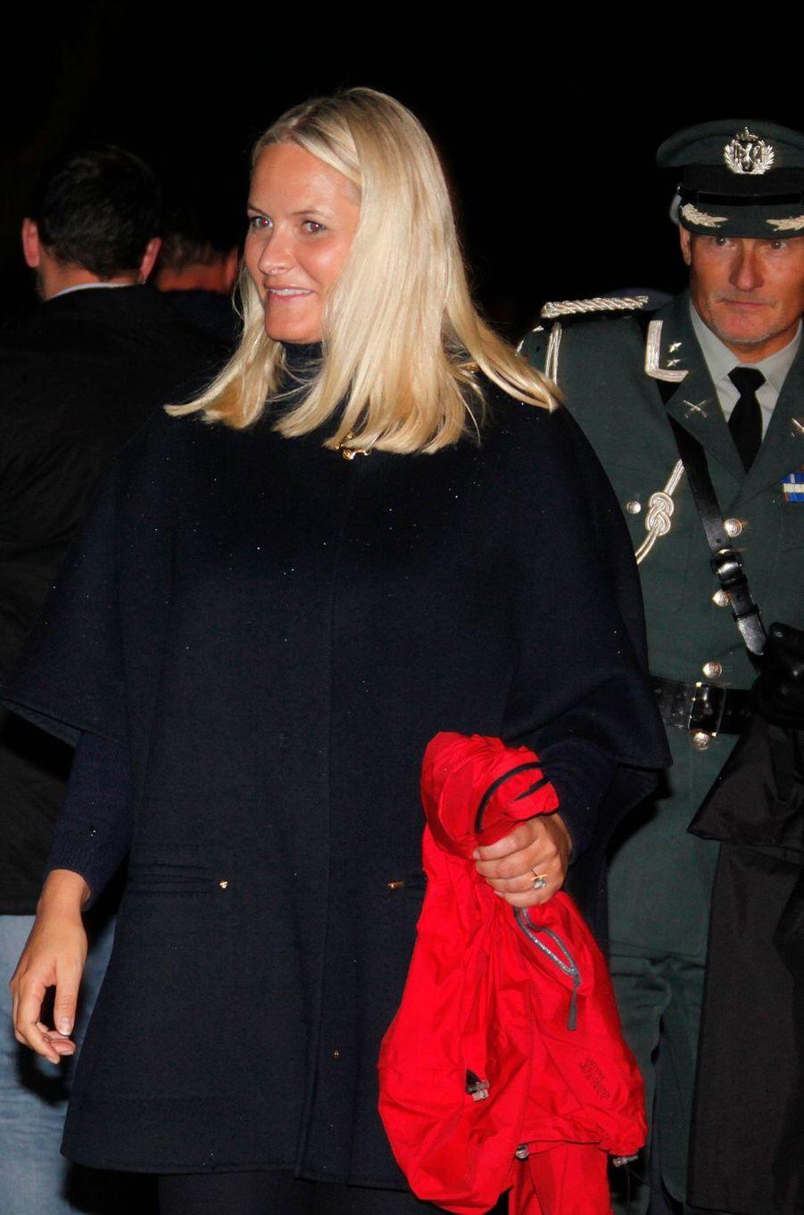 La princesse Mette-Marit de Norvège à Oslo, le 21 septembre 2016