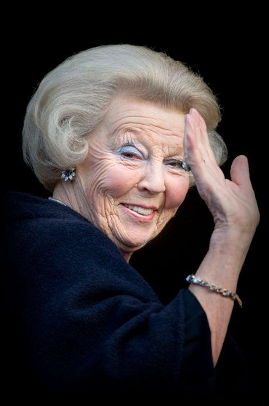 La princesse Beatrix des Pays-Bas à Amsterdam, le 4 décembre 2015