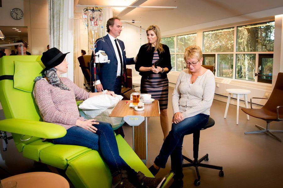 La reine Maxima des Pays-Bas à Bilthoven, le 8 décembre 2015